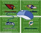 AMERICAN FOOTBALL TEAMS MOUSEMAT