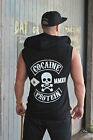 ADONIS.GEAR- CASH, SLEEVELESS HOODIE, BODYBUILDING, GYM, COCAINE & PROTEIN