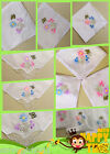 12 PCS luxury butterfly lace lady handkerchief ancient embroidery wedding gifts