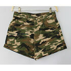 Women/Lady Camouflage Camo Shorts Hot Pants Denim Military Army Cargo Casual New