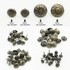 25/100X Antique Brass Upholstery Nail Jewelry Gift Box Sofa Decorative Tack Stud
