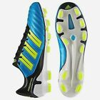 Soccer cleats mens football Adidas Predator T Adipower G40967 blue yellow 6-13.5