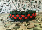 Durham Light Infantry 550 Paracord Survival Bracelet / Dog Collar Military DLI