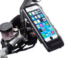 Motorcycle Mirror V2 8-10mm Stem Bike Mount + Waterproof Case for iPhone 6 Plus