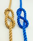 Floating Rope Mooring 3 strand Black Narrow boat barge Boat Rope price per meter