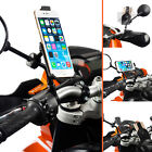 Motorcycle 8-16mm Mirror Mount + Dedicated Holder for iPhone 6 Plus 6s Plus 5.5""