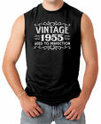 Vintage 1955 - Aged To Perfection - 60th Birthday Men's SLEEVELESS T-shirt