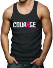 Courage - Breast Cancer Awareness Men's Tank Top T-shirt