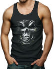 Silver Skull Men's Tank Top T-shirt