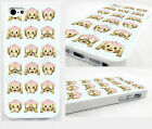 emoji emoticon thin case,cover for iPhone,ipod funny monkey face emojis,mint