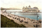 5427.People sitting in front of pier.ocean side.POSTER.Decoration.Graphic Art