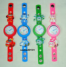 ROBOCAR POLI JIBBITZ BAND WATCH  & A SET OF 8 CHARMS, BRAND NEW