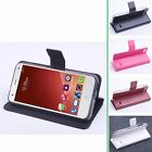 """Luxury Wallet Build-in Case Leather Cover For 5"""" ZTE Blade S6 Q5 Q5-C Smartphone"""