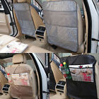 2PC Car Auto Care Seat Back Protector Cover For Children Kick Mat Mud Tide