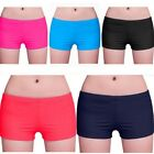 Summer Sexy Women Plain Swim Shorts Swimwear Beach Short Brief Knicker Bottoms J