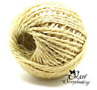 LOT 5M ou 10M FICELLE SISAL FICELLE NATUREL SCRAPBOOKING 3 PLIS MARIAGE 4mm NEW