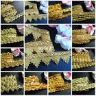 Внешний вид -  Gold color  braid select style and wide/selling by the yard