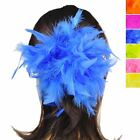 Quality Feather Hair Scrunchie Hen Party Costume Elastic Ponytail Band