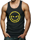 Evil Smiley Face - Funny Humor Men's Tank Top T-shirt