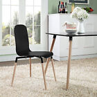 Modern Dining Wood Side Chair | Available in 3 Colors