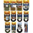 Velcro One-Wrap Straps - Wraps Onto Itself For Secure Hold, Indoor/Outdoor Use