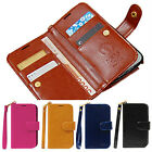 Samsung Galaxy s6 g920 A,F,T Hera Two-Side wallet Phone case With Strap freefilm