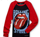 The Rolling Stones Tongue Logo Andy Warhol rock long sleeve T-Shirt M L XL NWT