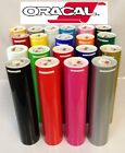 "12"" Adhesive Vinyl (Craft hobby sign maker cutter), 10 Rolls 5 Feet Oracal 651"