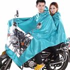 Men Scooter Motorcycle Rain Cape Poncho Coat Jacket Hooded Waterproof Protect