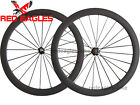 Free shipping 25mm wide U Shape  50mm Clincher carbon road bicycle wheelset