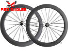 25mm width U Shape 60mm Clincher carbon bicycle road wheels aero spokes