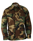 BDU Jacket - WOODLAND CAMOUFLAGE - 4 Pocket - IRREGULAR - Various Sizes