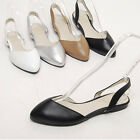 2spd08108 Genuine leather pointed toe flat sandal Made in Korea