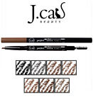 J. Cat Perfect Brow Duo Pencil  JCat Beauty Hydrates Emollients Spooley Brush