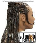 100% Kanekalon or 100% Tokyo Fiber Jumbo Braids - Comes in different Brands
