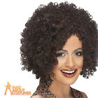 Ladies Scary Spice Girl Wig Mel B Brown Afro Fancy Dress Costume Accessory New