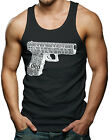 Ezekiel Scripture Gun - Religion Faith Men's Tank Top T-shirt