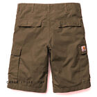 CARHARTT S15 CARGO LOOSE FIT CARGO SHORTS MOSS W32 34 36