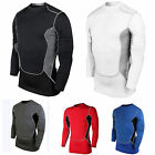Men Compression Under Skin Sport Tight Shirts Fitness GYM Workout Base Layer Top