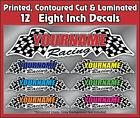 Custom Your Name Racing Decals Trailer Graphics Kit Stock Track Drag Truck Semi