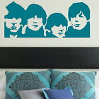 The Beatles Wall Sticker / Decal Transfer Art Decor / Vinyl Graphic Stencil BN50