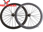 Disc brake 50mm Clincher carbon cyclocross wheels 20.5mm,23mm,25mm,27.5mm