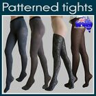 NEW Patterned Stockings Tights Pantyhose Socks Floral Print Diamond Lace Print