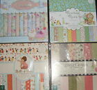 Card making craft paper 8 x 8 inch sheets various designs quantities scrapbook