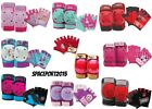 6pc Safety GLOVES+ELBOW+KNEE PADS SET Boys-Girls Movie Bike Skates Scooter Kids