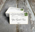 VINTAGE STYLE POSTCARD WEDDING PLACE CARDS, TAGS or ESCORT CARDS #122