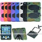 Waterproof Survivor Shockproof Military Duty Hybrid Stand Case For iPad Mini 1 2