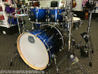 "Mapex Armory 22"" Studioease Photon Blue Drum Set 6 piece Birch Maple Shell Pack"