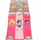 **REF198** Disney Princess Girl's 6 pack Non Skid Slipper Socks