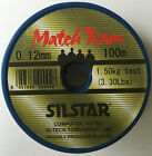 SILSTAR MATCH TEAM LINE/HOOK LENGTH (all sizes)